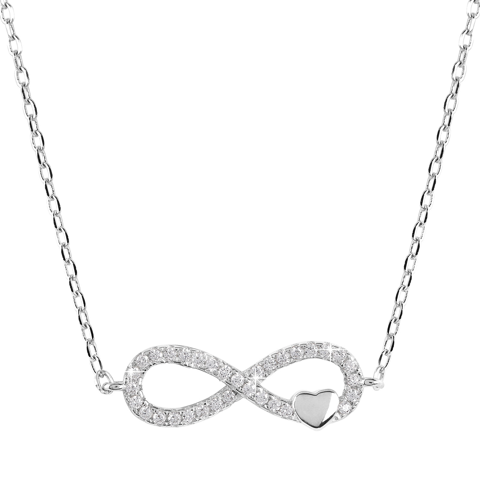 Halsband Infinity Sterling silver 925