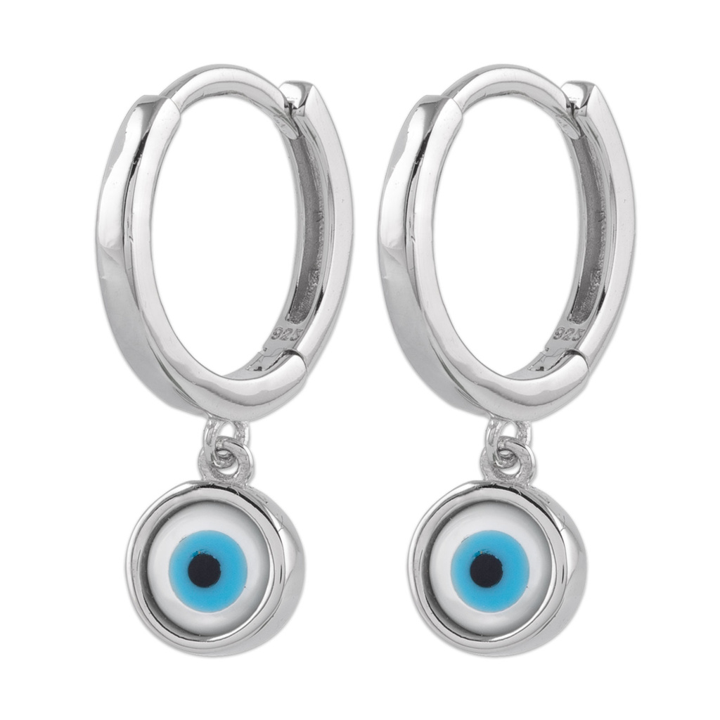 Örhängen Sterling Silver 925 Devil Eye