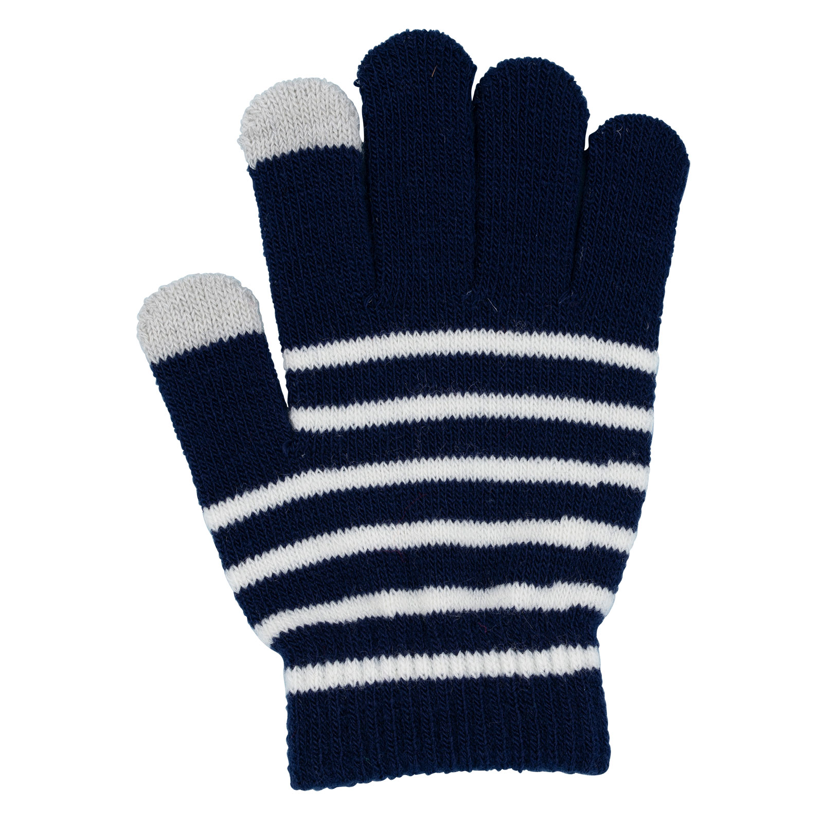 Touch gloves barn -   blå / vit