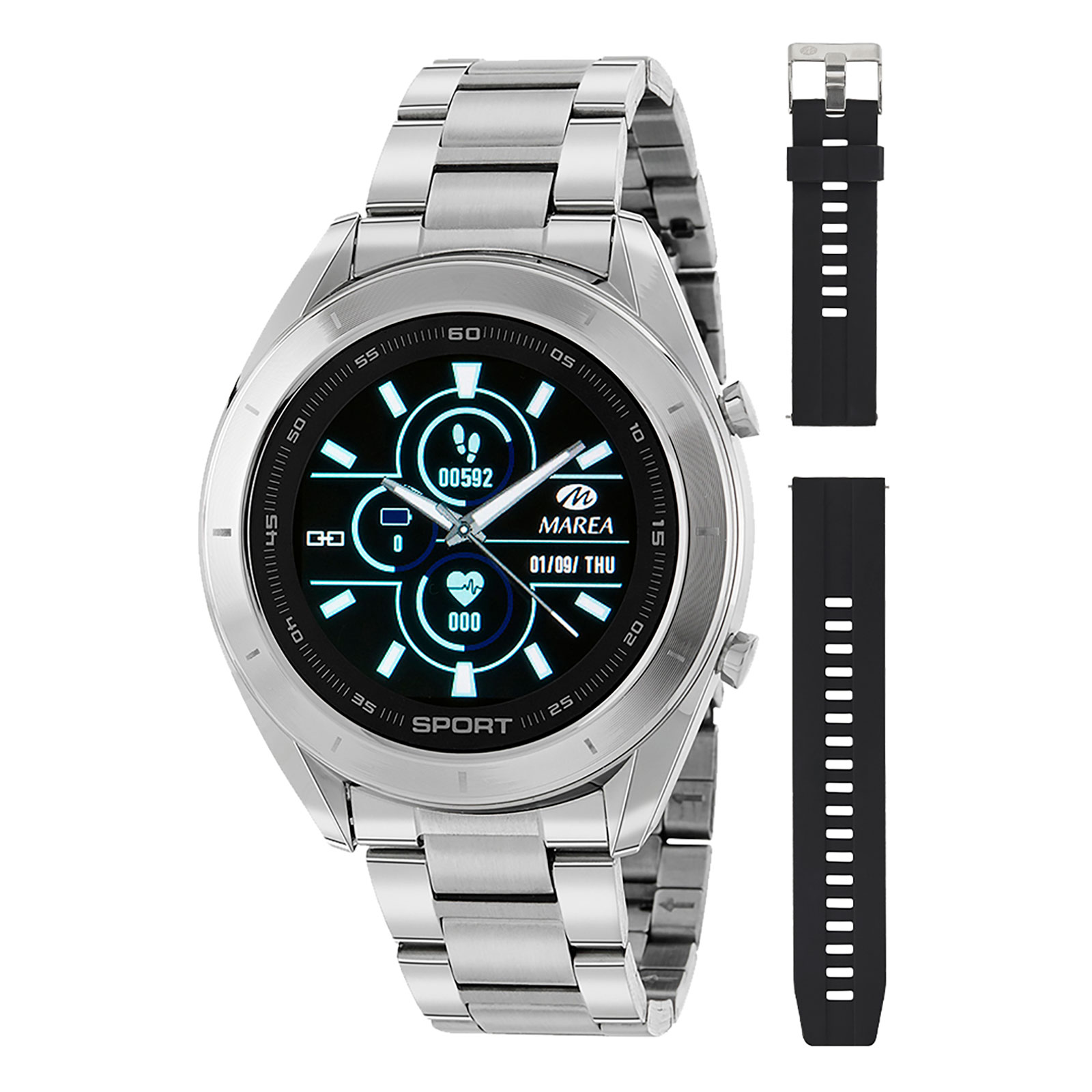 Marea Smart Watch B58004/1 -Silver